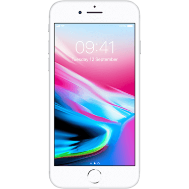 Klik hier om een Apple iPhone 8 64GB Silver te bestellen