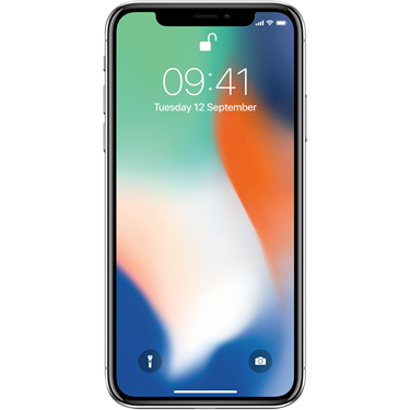 Klik hier om een Apple iPhone X 256GB Silver te bestellen