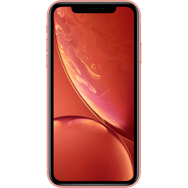 Klik hier om een Apple iPhone XR 128GB Coral te bestellen