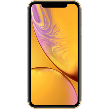 Klik hier om een Apple iPhone XR 64GB Yellow te bestellen